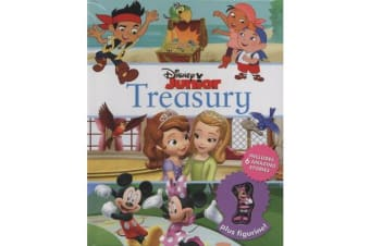Disney Junior Treasury: Includes 6 Amazing Stories Plus Figurine! - Includes 6 amazing stories plus figurine!