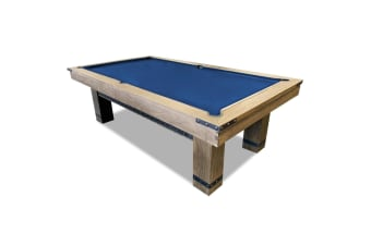 8FT LUXURY SLATE POOL / BILLIARDS / SNOOKER TABLE FREE ACCESSARIES