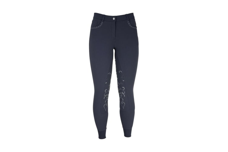 HyPERFORMANCE Womens/Ladies Chester Breeches (Navy) (30in)