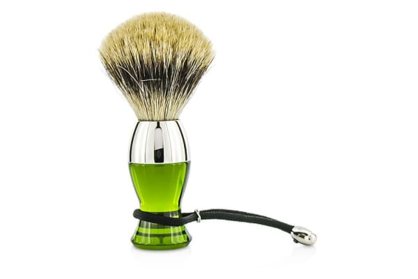 EShave Short Brushes Nickel Pastic Handle - # Green 1pc