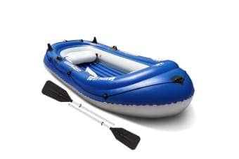 Aqua Marina Inflatable Boat Wildriver 2/3 Person Fishing Raft Kayak Paddle
