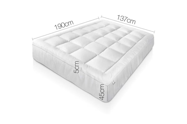 Duck Feather & Down Pillowtop Matress Topper (Double)
