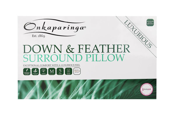 Onkaparinga Goose Down & Feather Surround Pillow