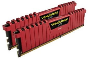 Corsair Vengeance LPX 16GB (2x8GB) DDR4 3000MHz C15 Desktop Gaming Memory Red