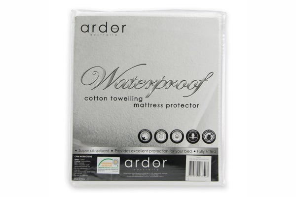 Ardor Waterproof Towelling Mattress Protector (King)