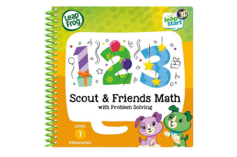 LeapFrog LeapStart Scout and Friends Math with Problem Solving - 3D Enhanced