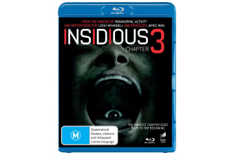 Insidious Chapter 3 Blu-ray Region B