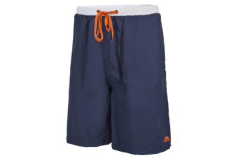 Trespass Mens Hoffman Mid Length Surf Shorts (Ink)