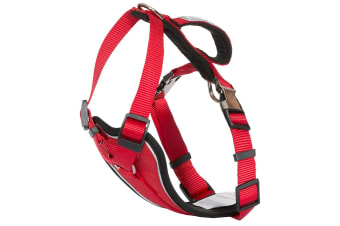 Trespass Tanked Dog Car Safety Harness (Postbox Red) (XXS/XS)