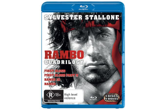 Rambo The Complete Collection Blu-ray Region B