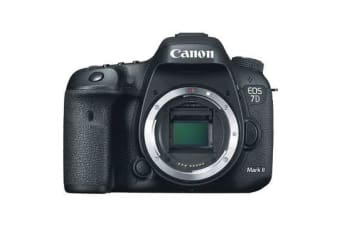 New Canon EOS 7D Mark II 2 Body Digital Camera (FREE DELIVERY + 1 YEAR AU WARRANTY)