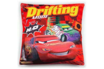 Cars Drifting Mode Filled Cushion (Red) (One Size)