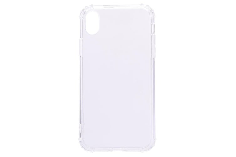 For iPhone XS MAX Case Simple Slim Shockproof Protective Back Cover Transparent