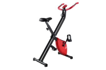Genki Fitness Exercise Bike With 8 Level Magnetic System and X Shape Principle