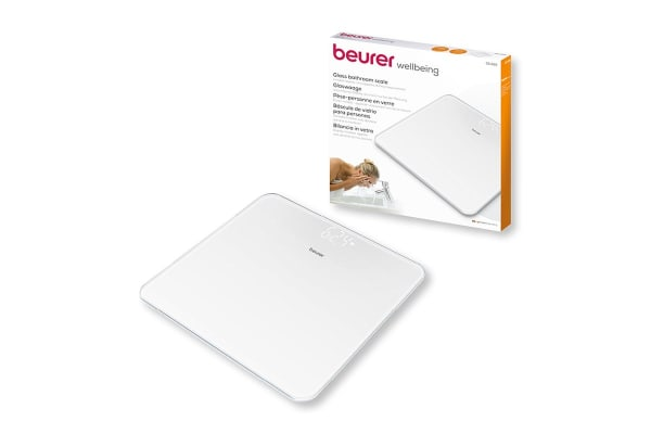 Beurer Digital Glass Scale - White (GS225)