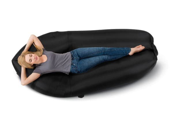 Komodo Inflatable Sofa (Black)