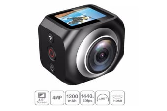 Vr360 Wifi Sports Action Camera 220? Wide Angle 1920X1440 Remote Camcorder