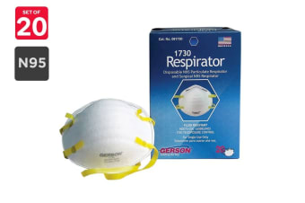 Gerson N95 1730 KN95 Particulate Respirator Masks (20 Pack)