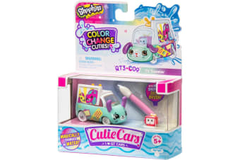 Cutie Cars Shopkins Color Change Cuties - TV Traveler