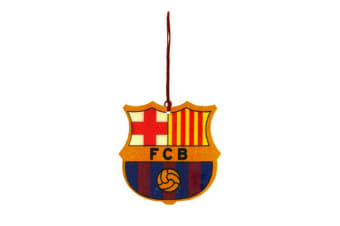FC Barcelona Official Football Crest Car Air Freshener (Multicoloured) (One Size)