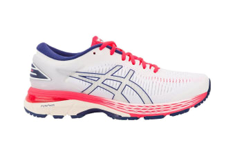 ASICS Women's Gel-Kayano 25 Running Shoe (White/White, Size 10)