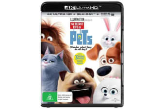 The Secret Life of Pets (4K UHD/Blu-ray/UV)