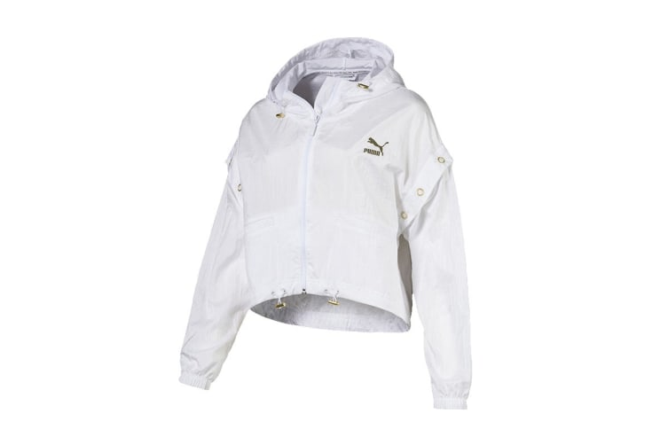 Puma Women's Retro Windrunner (White, Size M)