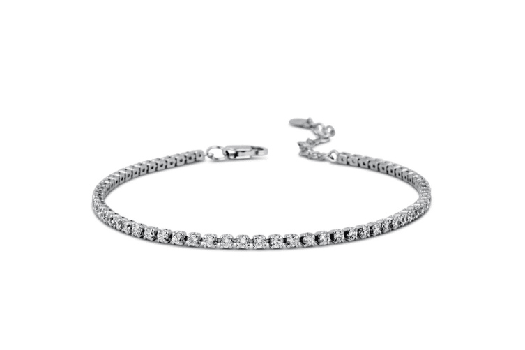 Arena Crystal Tennis Bracelet Embellished with Swarovski crystals