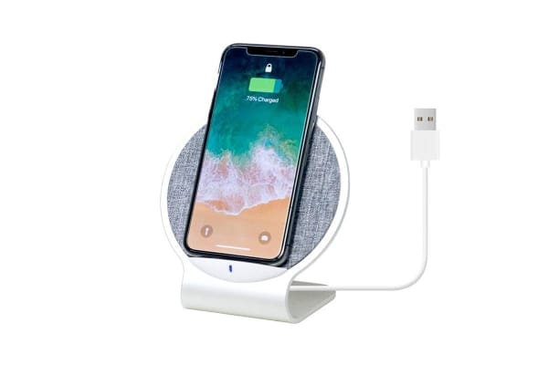 mbeat Aurora 10W Dual Coil Aluminium Wireless Charging Stand