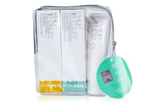 Philip Kingsley Body & Shine Jet Set: Shampoo 75ml + Conditioner 75ml + Elasticizer 75ml 3pcs