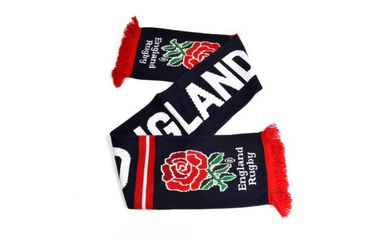 England Rugby Fans Scarf (Navy/White/Red) (One Size)