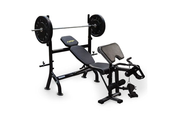 HPF Weight Bench Multi-Station Gym Home - B400