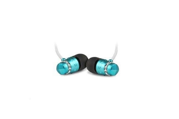 Maroo ICE Earphones - 1.2m - Turquoise Blue