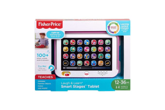 Fisher-Price Laugh & Learn Smart Stages Tablet - Pink