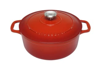 Chasseur Round French Oven 20cm Inferno Red