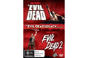 The Evil Dead 1 & 2 DVD Region 4