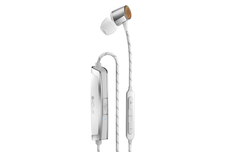 House of Marley Uplift 2 Wireless Bluetooth Earphone w/Mic for Samsung/iPhone SL