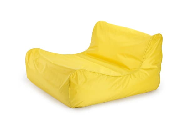 Ovela Luxe Bean Bag Lounger (Yellow)
