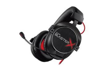 Creative Sound Blaster Pro H7 Gaming Headphone/Headset w/ Mic for PC/Laptop BLK