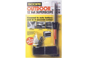 Scope 12V Dc Battery Soldering Iron