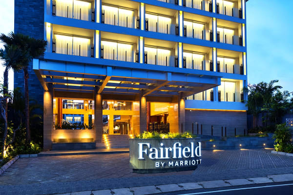 BALI: 5 Nights at Fairfield by Marriott Bali Legian Including Flights For Two (Departing PER)