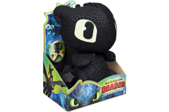 Dragons Squeeze and Growl Plush Toothless