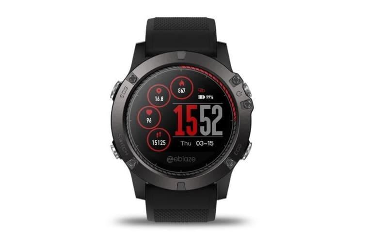 VIBE 3 ECG Smart Sport Watch-red