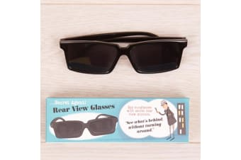 Secret Agent Spy Sunglasses | See Behind You Without Turning Around!