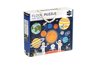 Petit Collage Floor Puzzle - Outer Space