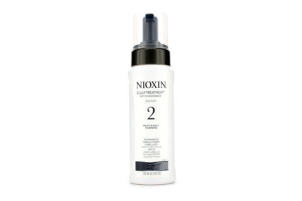 Nioxin System 2 Scalp Treatment SPF 15 Sunscreen For Fine Hair, Noticeably Thinning Hair (200ml/6.76oz)