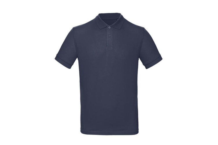 B&C Mens Inspire Polo (Pack of 2) (Night Navy) (3XL)
