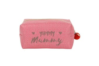 Bohemian Babe Yummy Mummy Cube Make Up Bag (Pink) (One Size)