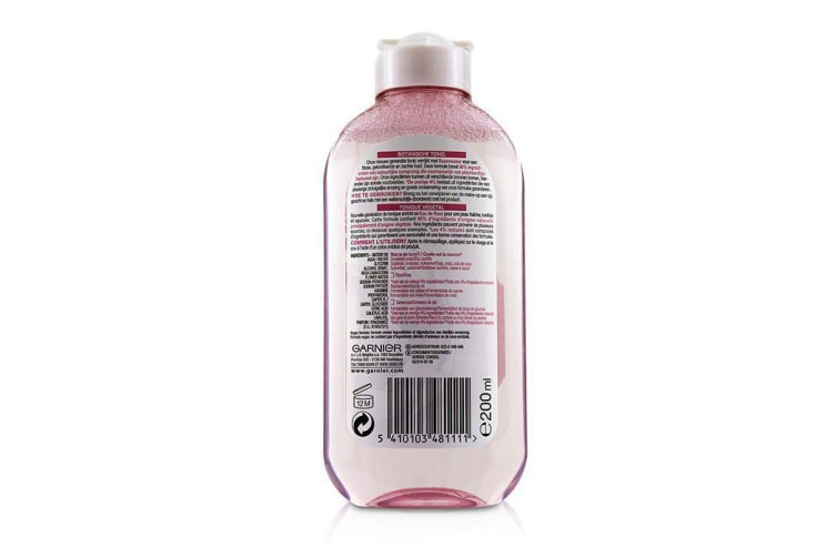 Garnier SkinActive Botanical Tonic - Rose (For Dry & Sensitive Skin) 200ml