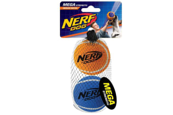 Nerf Mega Tennis Balls (2 Pack) (May Vary) (One Size)